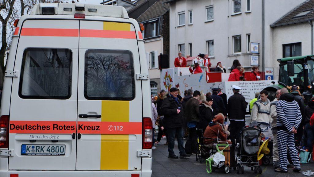 Karnevalszug Köln Porz
